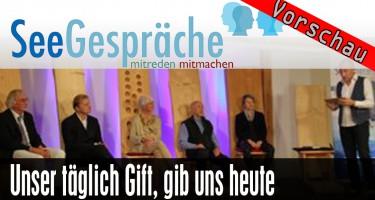 """""""Unser täglich Gift, gib uns heute"""" (Dr. Andreas Noack, Robert Stein, Klaus Runow, Barbara Dohmen)"""