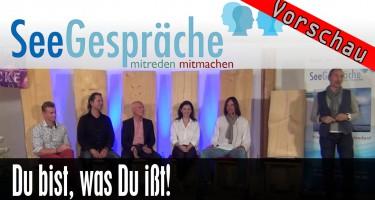 """Vorschau: """"Du bist, was Du ißt"""" mit Dr. Ruediger Dahlke, Robert Stein, Rasmus Gaupp-Berghausen"""