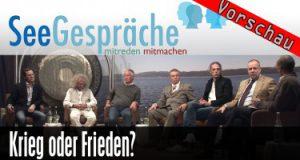 """""""Krieg vs Frieden"""" mit Robert Stein, Christoph Hörstel, Jürgen Fliege, S. Berndt, R. Langhans"""