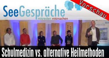 """""""Schulmedizin oder alternative Heilmethoden?"""" (Robert Stein, Horst Janson, Dr. Panzer, Dr. Pawelke)"""