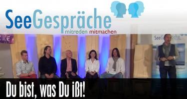 """""""Du bist, was Du ißt"""" mit Dr. Ruediger Dahlke, Robert Stein, Rasmus Gaupp-Berghausen"""