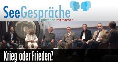 """Krieg vs Frieden"" mit Robert Stein, Christoph Hörstel, Jürgen Fliege, R. Langhans"