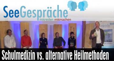 """Schulmedizin vs altern. Heilmethoden"" -mit Robert Stein, Horst Janson,Dr.Pawelke"