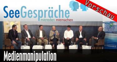 """""""Medienmanipulation im 21. Jahrhundert"""" (Oliver Janich, Heiko Schrang, Robert Stein,…)"""