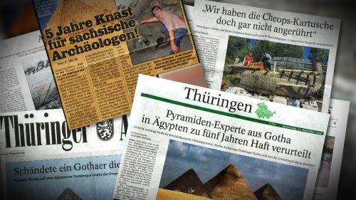 NuoViso Dreharbeiten in Pyramide lösen internationalen Skandal aus