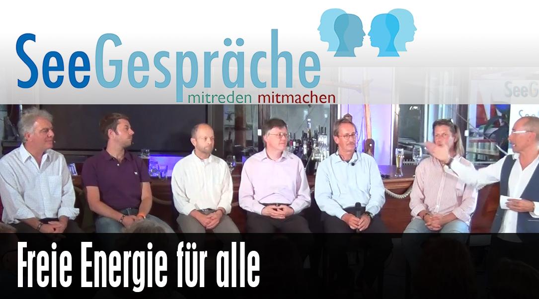 """""""Freie Energie"""" mit Prof. Claus Turtur, Carl Fechner, Robert Stein, Jörg Schauberger"""