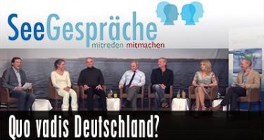 Seegespräche – Quo Vadis Deutschland mit Eva Herman, Andreas Popp, H.W. Graf, Robert Stein, u.a.