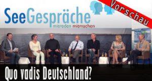 Quo Vadis Deutschland? – Eva Herman, A. Popp, H.W. Graf, R. Stein,…