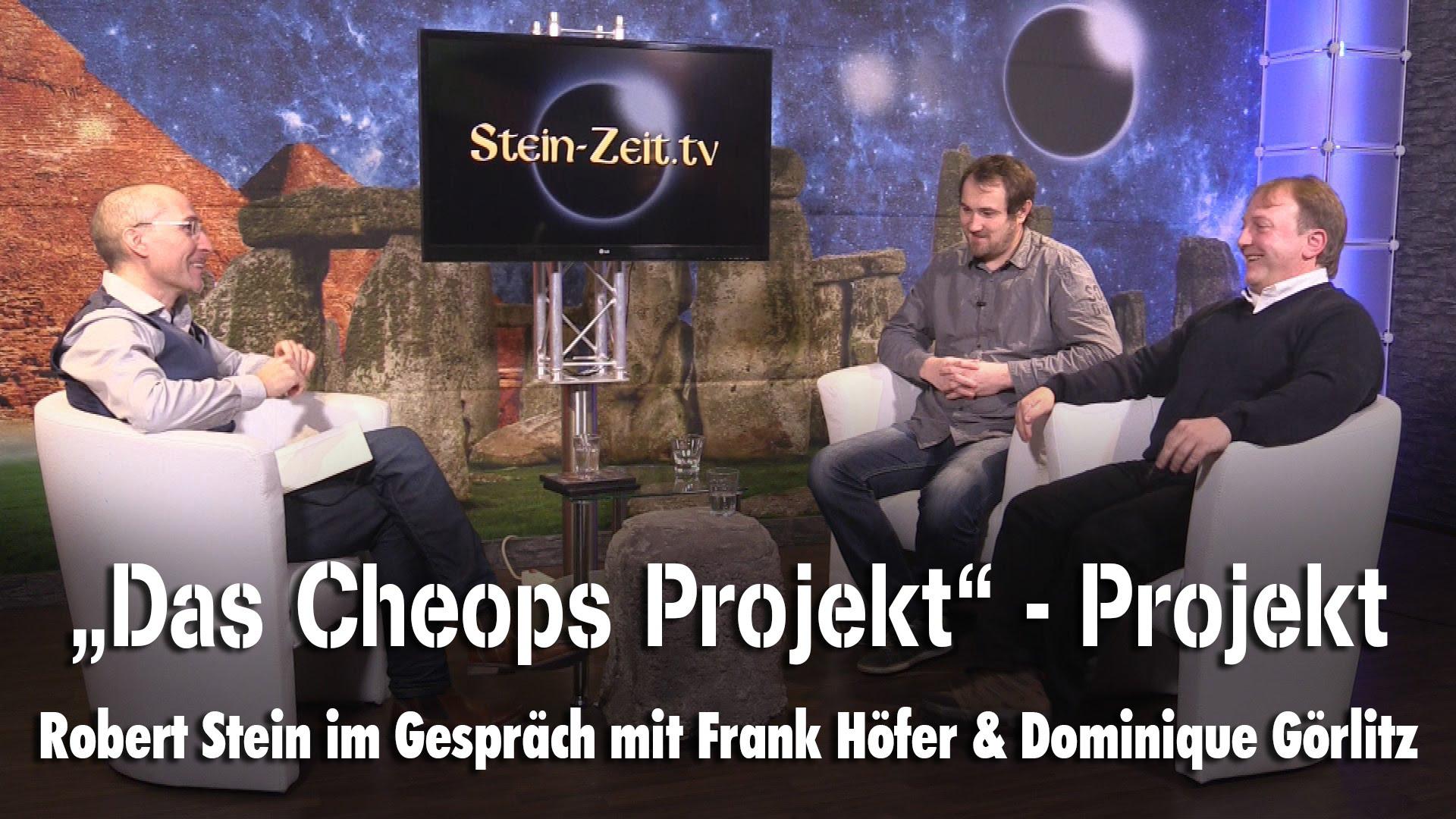 """""""Das Cheops Projekt"""" – Projekt – Frank Höfer & Dr. Dominique Görlitz bei SteinZeit"""
