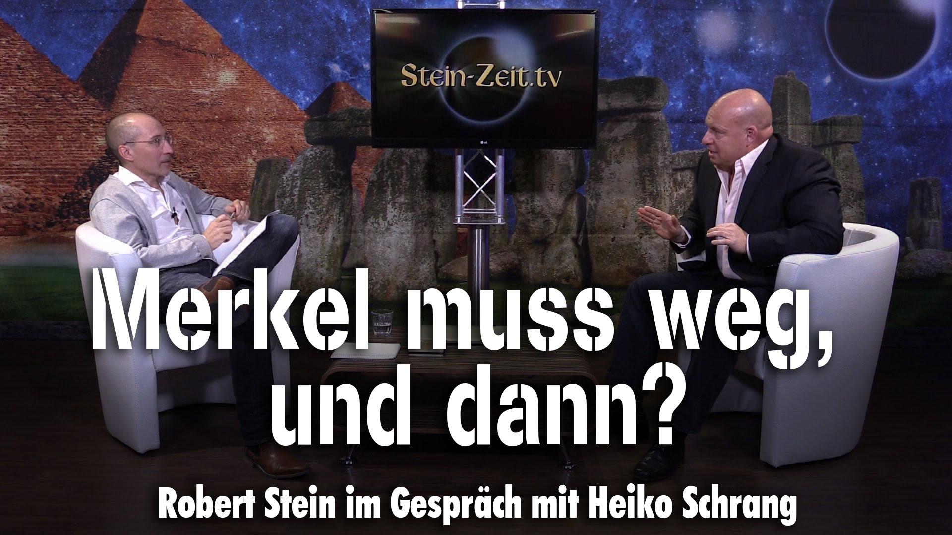 Merkel muss weg, und dann? – Heiko Schrang bei SteinZeit