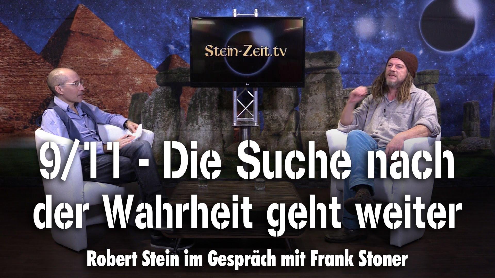9/11 – Die Suche nach der Wahrheit geht weiter – Frank Stoner bei SteinZeit