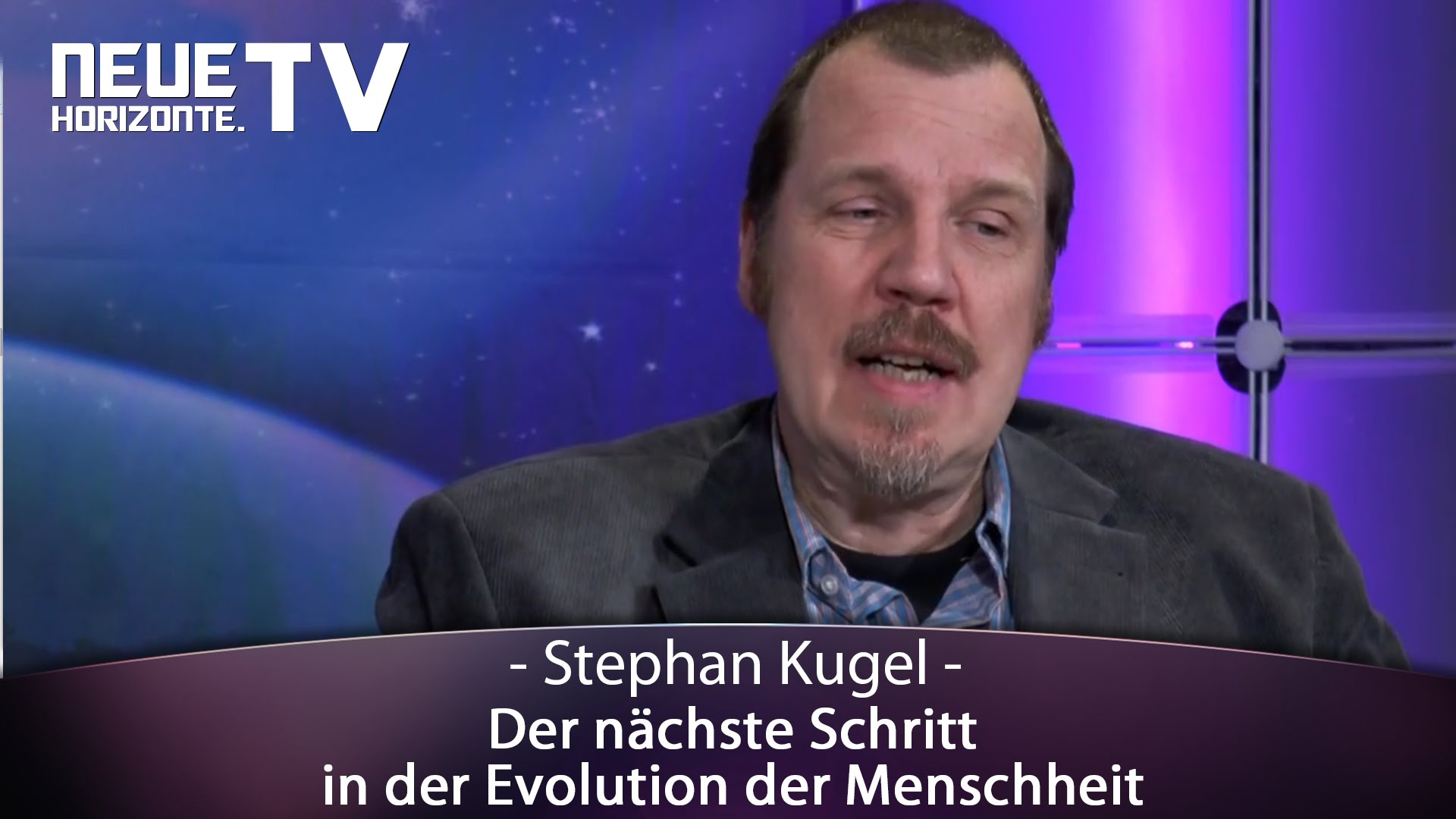 Der nächste Schritt in der Evolution der Menschheit – Stephan Kugel