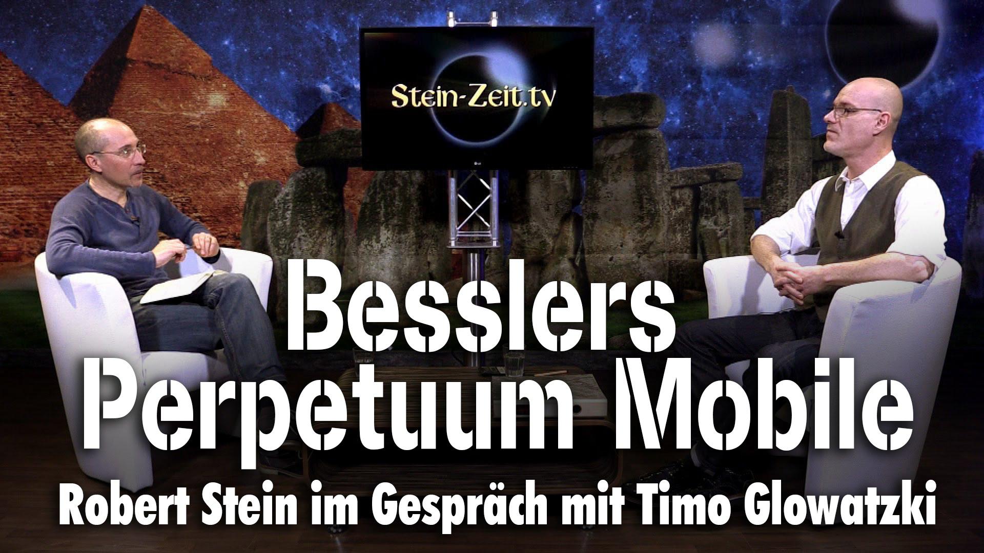 Besslers Perpetuum Mobile – Timo Glowatzki bei SteinZeit