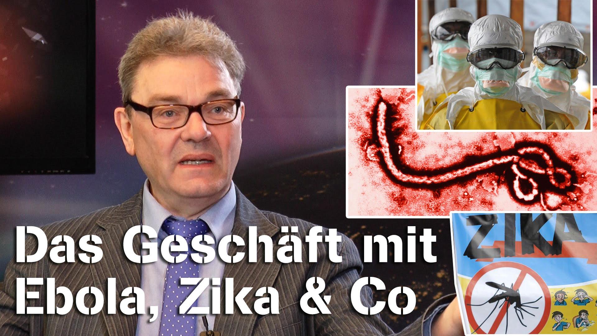 Das Geschäft mit Ebola, Zika & Co – Hans U. P. Tolzin im NuoViso Talk