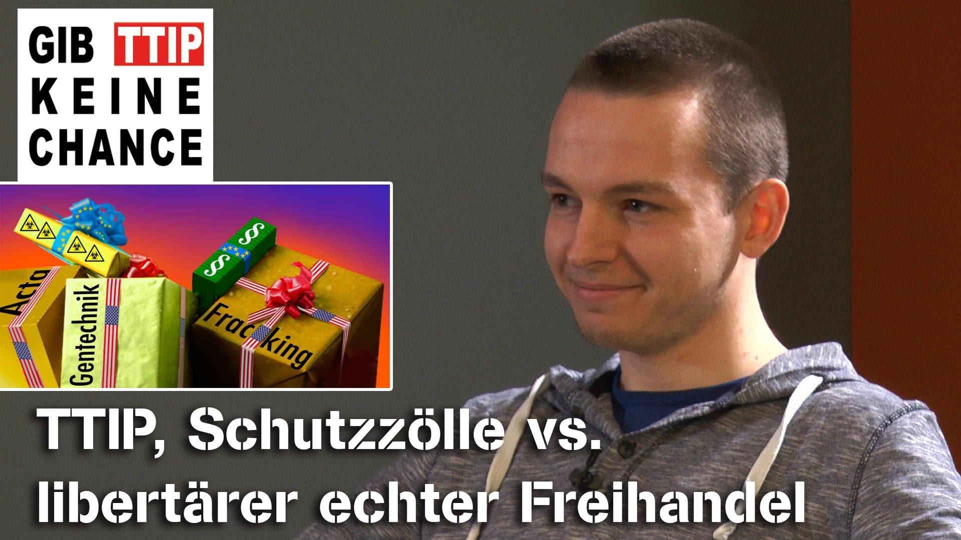 TTIP & Schutzzölle vs libertärer Freihandel – Charles Krüger im NuoViso Talk