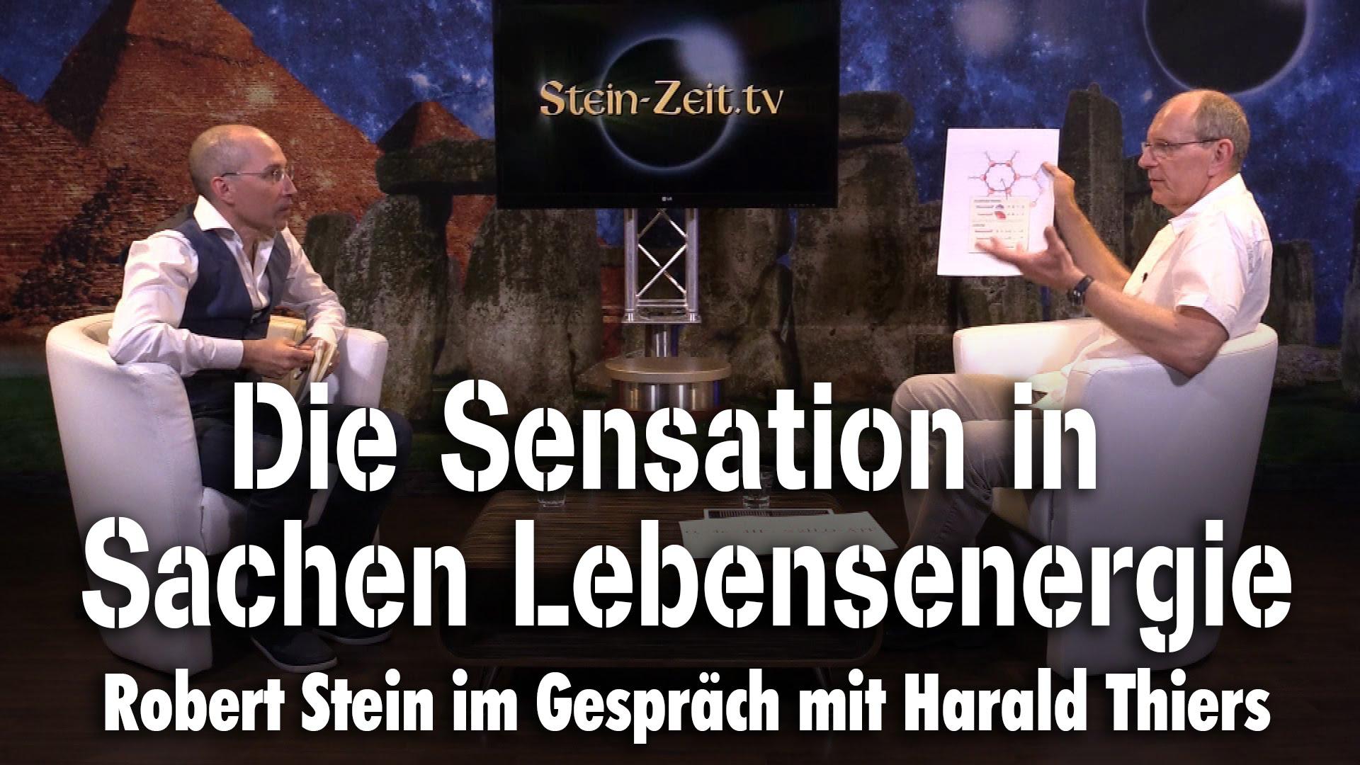 Die Sensation in Sachen Lebensenergie – Harald Thiers bei SteinZeit
