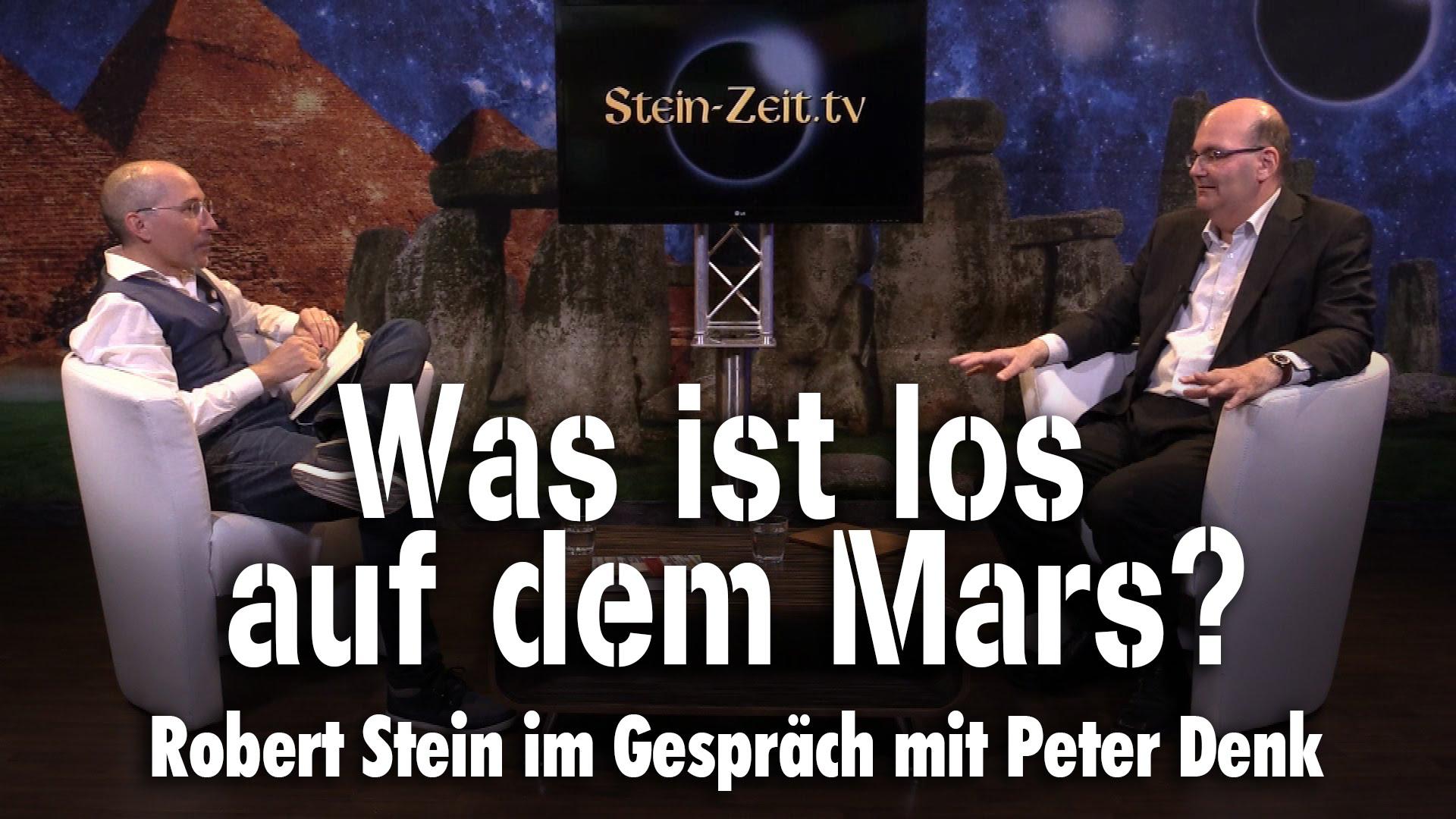 Was ist los auf dem Mars? . Peter Denk bei SteinZeit