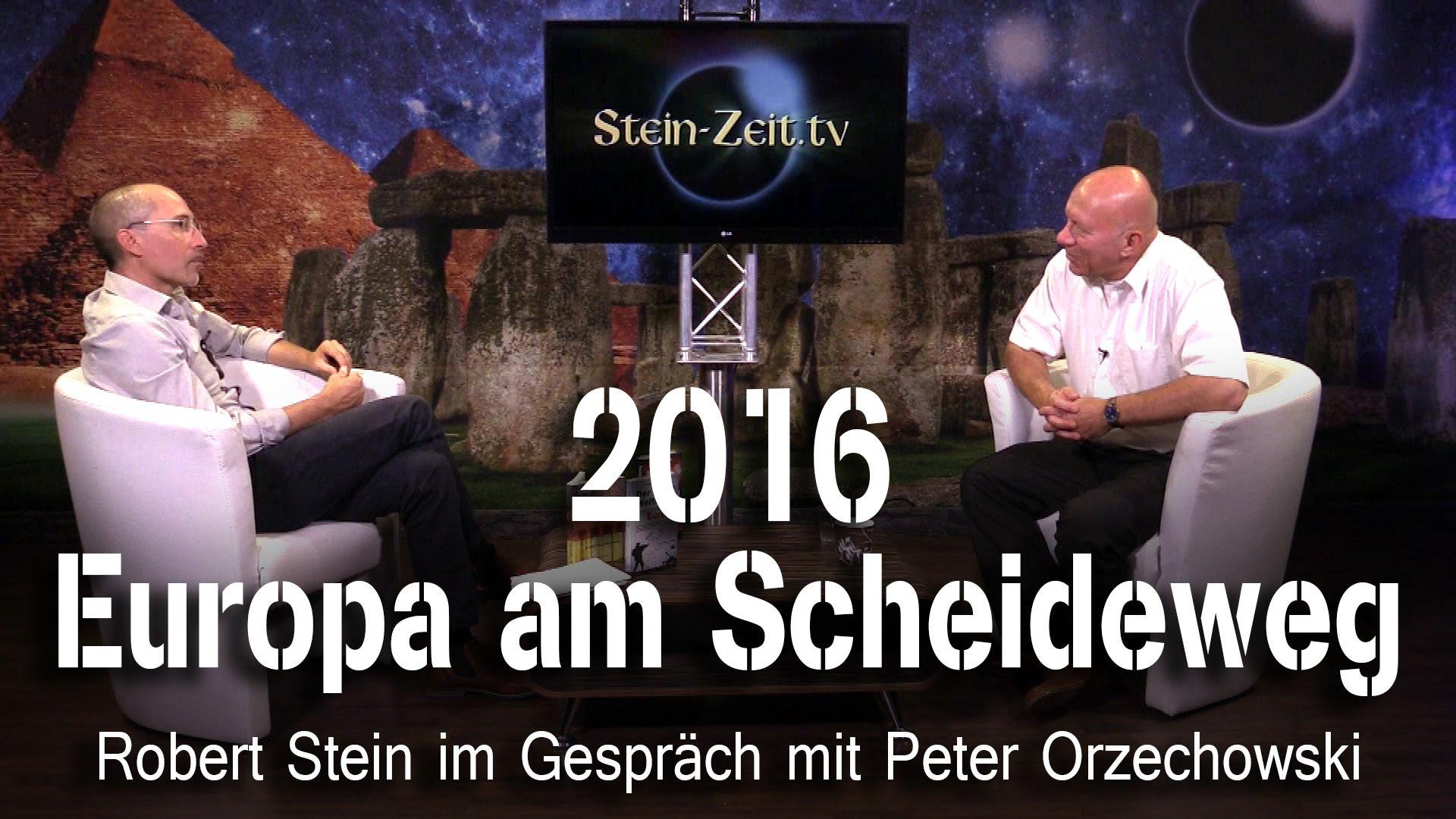 2016: Europa am Scheideweg – Peter Orzechowski bei SteinZeit