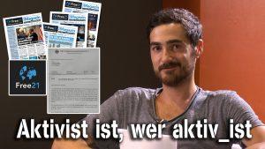 Aktivist ist, wer aktiv_ist – Lukas Puchalski im NuoViso Talk