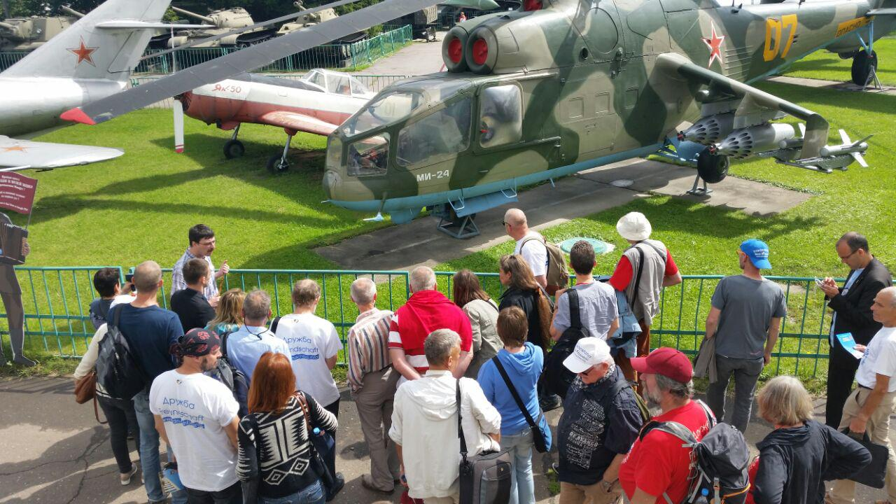 """Tag 11: Abschied in Moskau – vom muslimischen Gotteshaus in die Zentrale von """"Putins Rockern"""""""