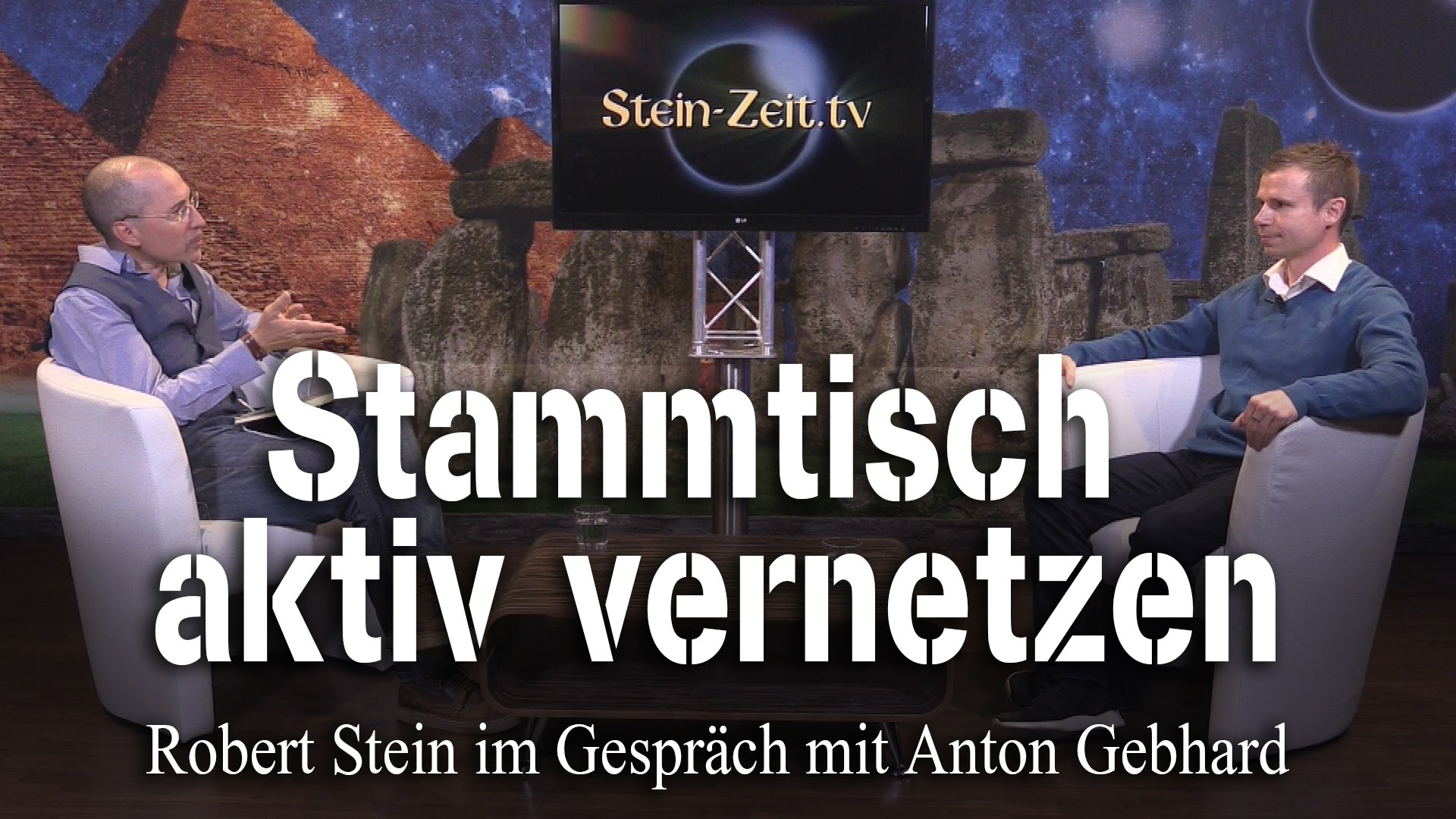 Stammtisch Aktiv vernetzen – Anton Gebhard bei SteinZeit