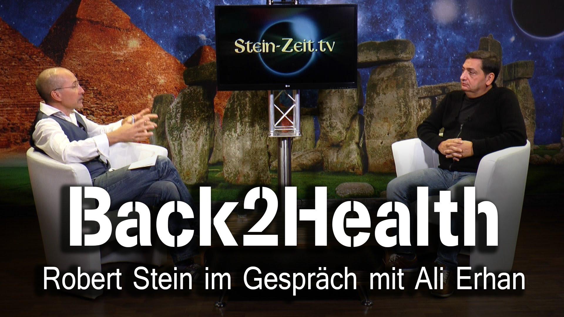 Back2Health – Ali Erhan bei SteinZeit