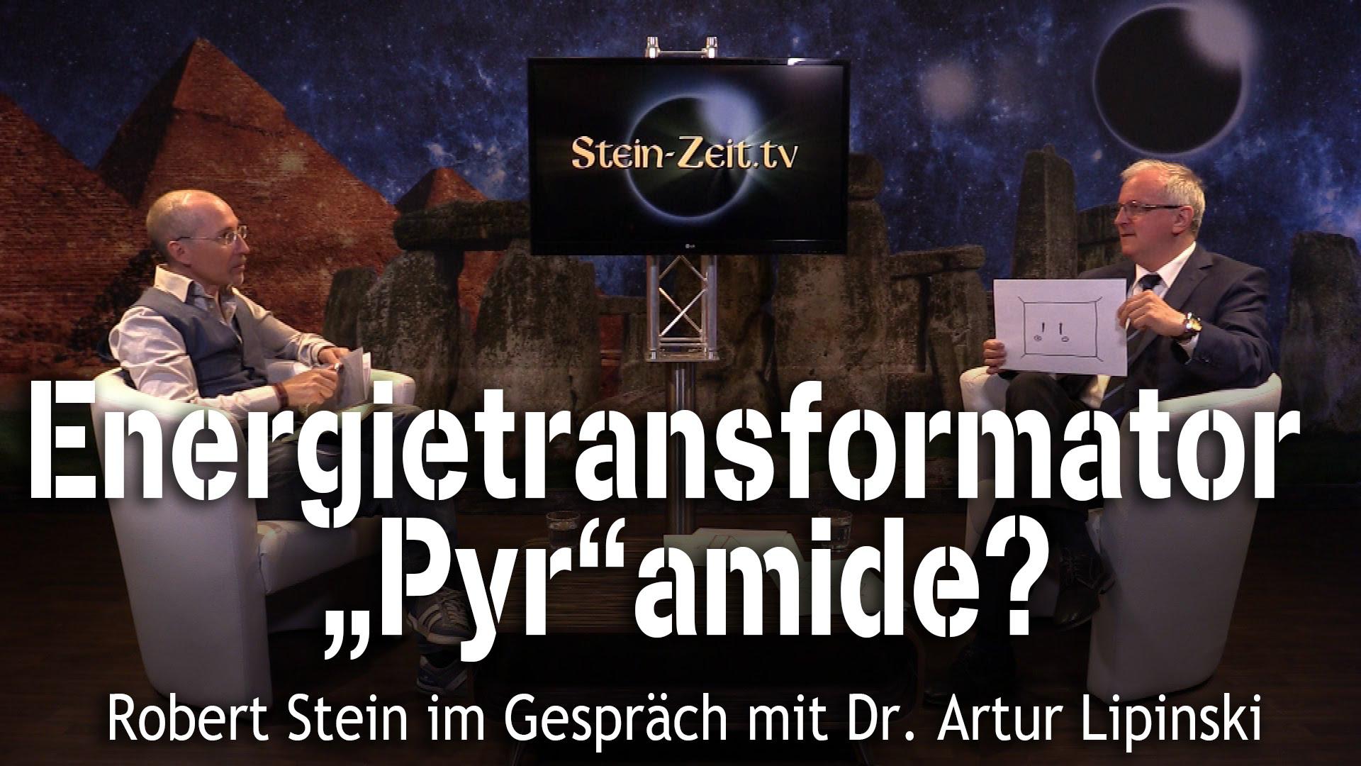 """Energietransformator """"Pyr""""amide? Dr. Artur Lipinski bei SteinZeit"""