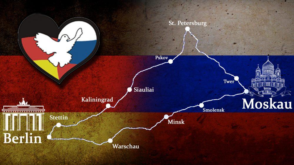 """Friedensfahrt """"Druschba"""" – 4.200 Km für Verständigung zwischen Berlin und Moskau"""