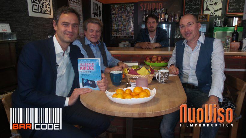 Illegale Kriege – #BarCode mit Dr. Daniele Ganser, Prof. Michael Vogt, Robert Stein & Frank Höfer
