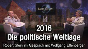 2016 – Die politische Weltlage – Wolfgang Effenberger bei SteinZeit