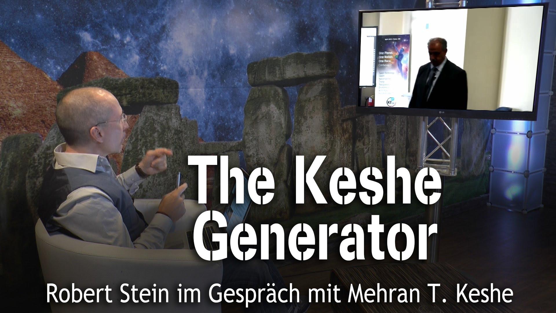 The Keshe Generator – Mehran T. Keshe bei SteinZeit