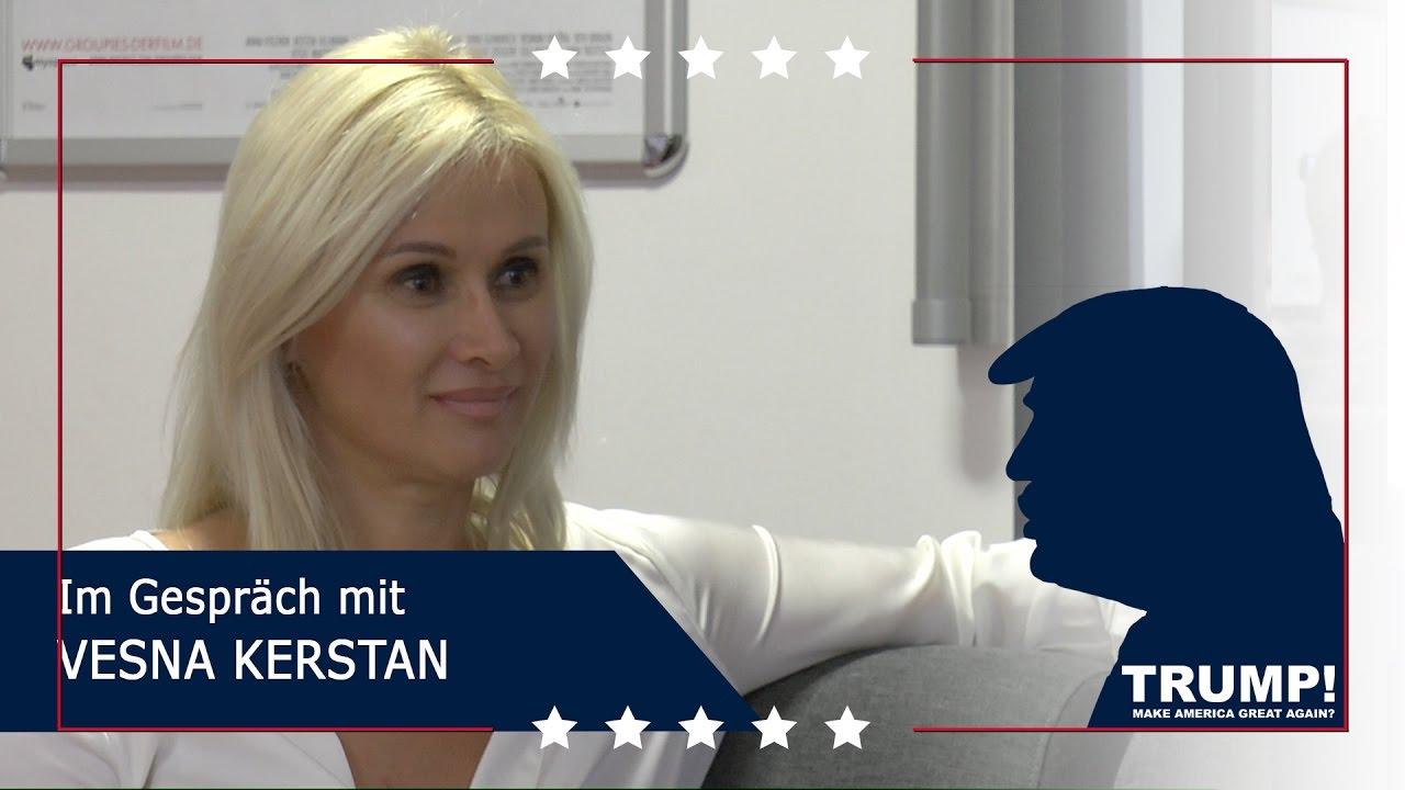 TRUMP!  – Im Gespräch mit Vesna Kerstan
