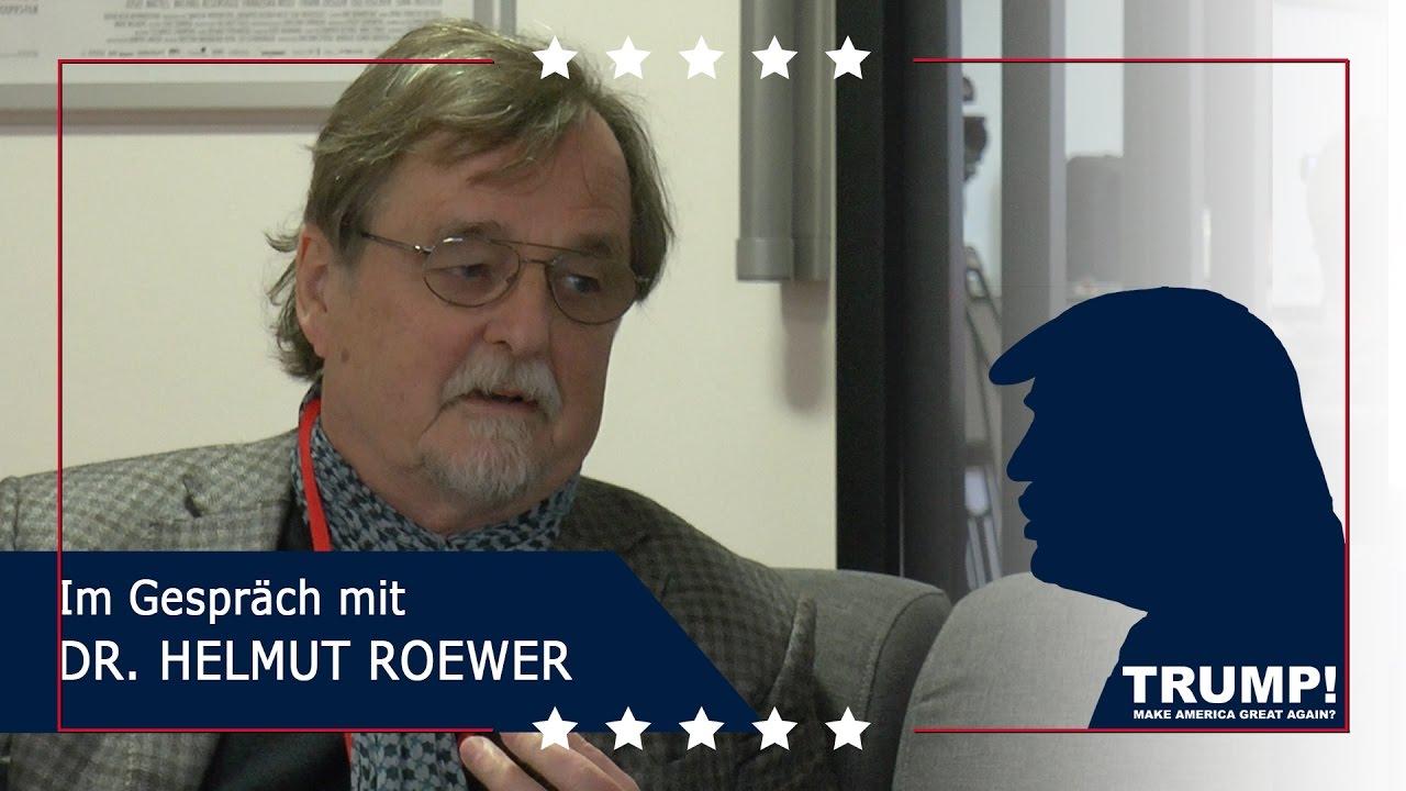 TRUMP!  – Im Gespräch mit Dr. Helmut Roewer