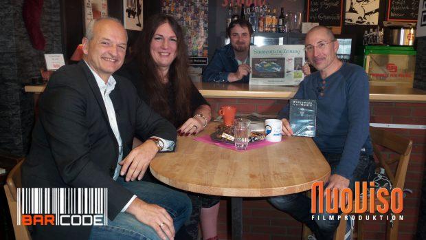 """Wegen """"Fakenews"""" verboten! #BarCode mit Monika Donner, Erich Hambach, Robert Stein & Frank Höfer"""
