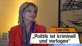 """""""Die Politik ist so dermaßen kriminell und verlogen"""" – Lisa Fitz bei SchrangTV-Talk"""