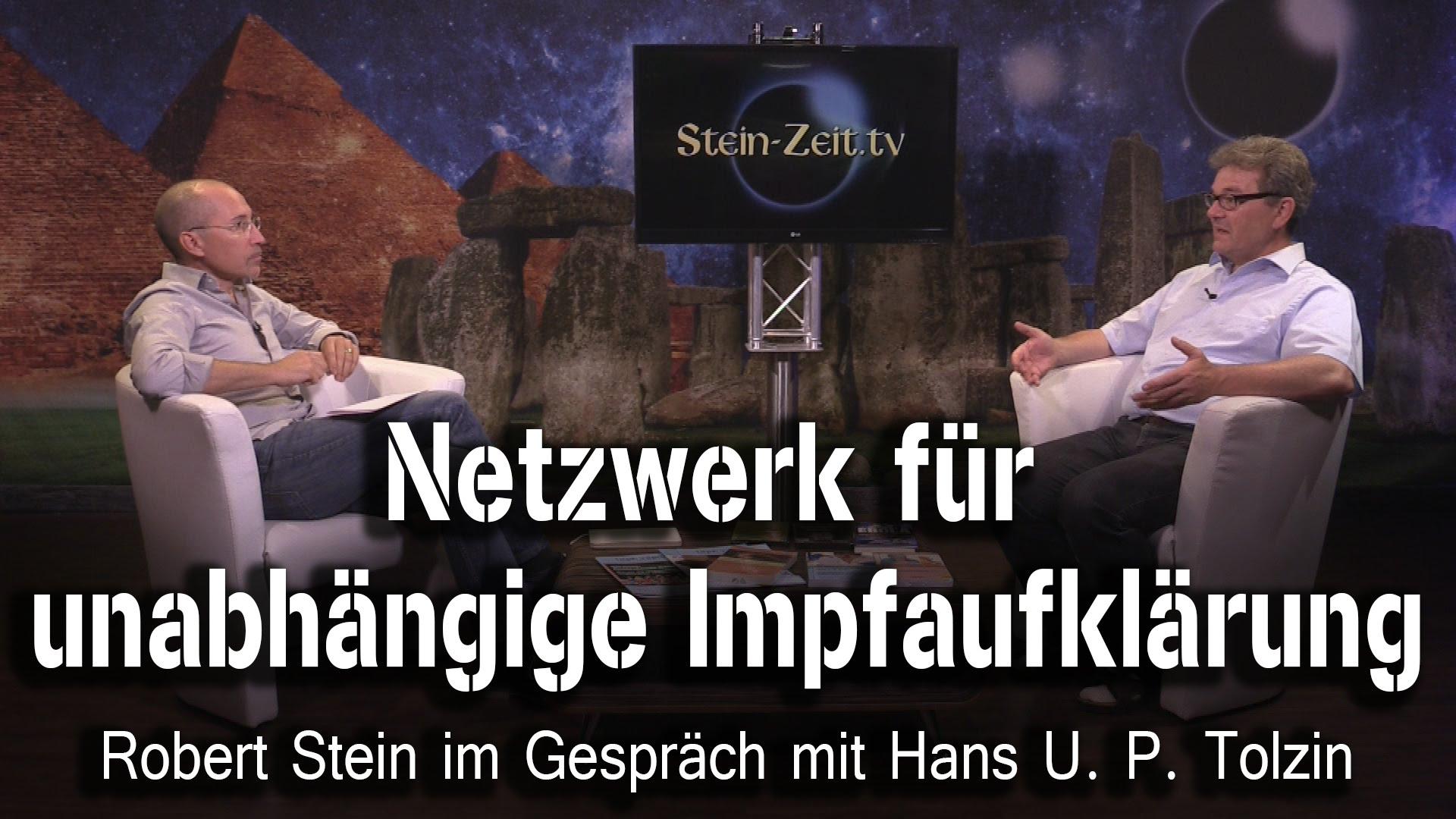 Netzwerk für unabhängige Impfaufklärung – Hans Tolzin bei SteinZeit