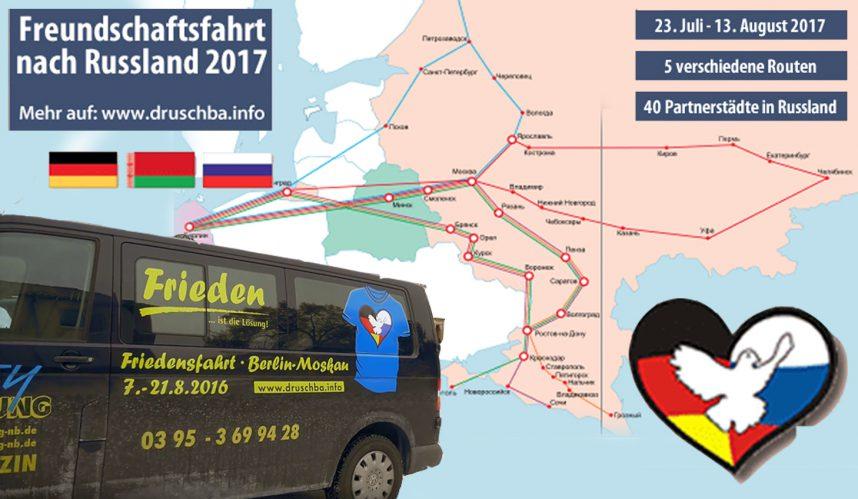 Druschba-Freundschaftsfahrt 2017: Planungstreffen in Hessen