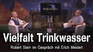 Vielfalt Trinkwasser – Erich Meidert bei SteinZeit