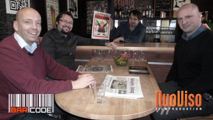 Dresden, Lückenpresse und ein neuer Schlossherr #BarCode mit Andreas Beutel, Norbert Fleischer & Frank Geppert