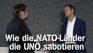 Wie die NATO-Länder die UNO sabotieren – Dr. Daniele Ganser im NuoViso Talk