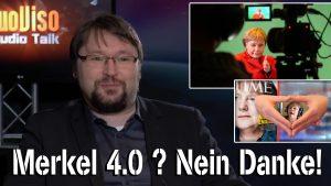 Merkel 4.0? Nein Danke! – Filmautor Norbert Fleischer im NuoViso Talk
