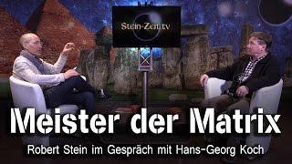 Meister der MATRIX – Hans-Georg Koch bei SteinZeit