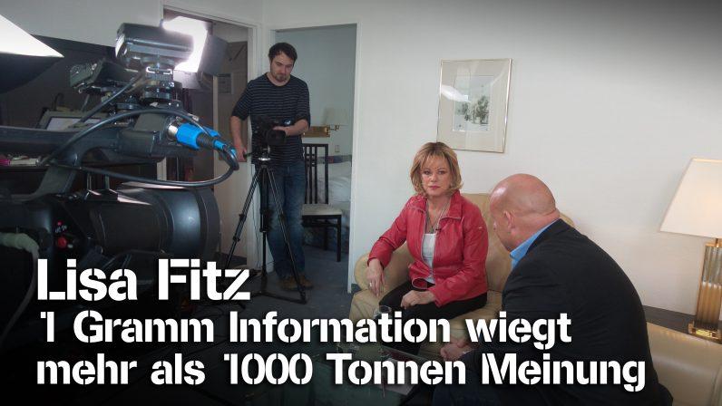 """""""1 Gramm Information wiegt mehr als 1000 Tonnen Meinung"""" – Lisa Fitz bei SchrangTV-Talk"""