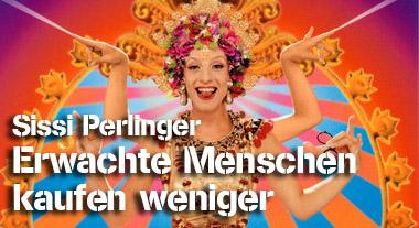Erwachte Menschen kaufen weniger – Sissi Perlinger bei SchrangTV-Talk
