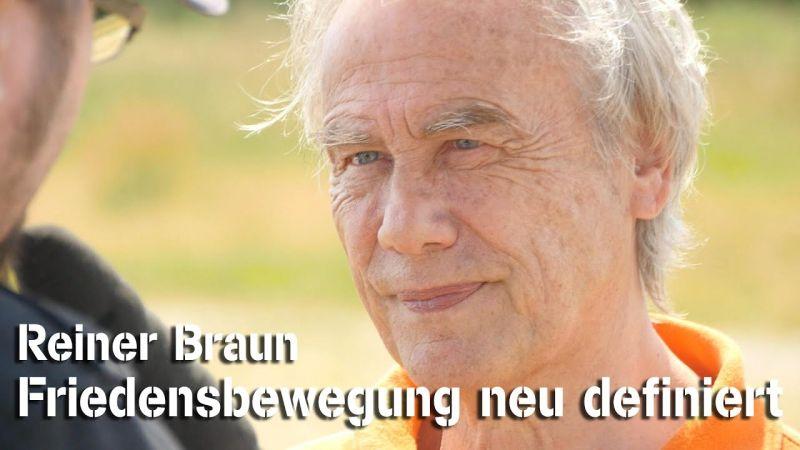 """Reiner Braun: """"Die Friedensbewegung definiert sich gerade neu"""""""