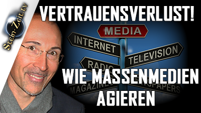 Vertrauensverlust! Wie Mainstreammedien agieren – Erich Hambach bei SteinZeit