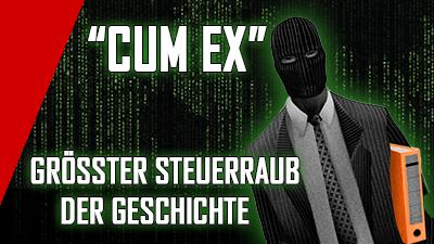 """""""CUM EX"""" – der größte Steuerraub der Geschichte"""