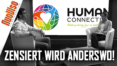 Human Connection – zensiert wird anderswo! Dennis Hack im NuoViso Talk