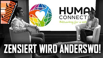 Human Connection – zensiert wird anderswo! Dennis Hack im NuoViso Talk