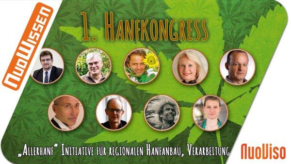 1. Nutzhanfkongress (alle 11 Vorträge + Podiumsdiskussion)